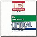 FUJIFILM 光吸収・赤外線透過フィルター(IRフィルター) 単品 フイルター IR 84 7.5X 1
