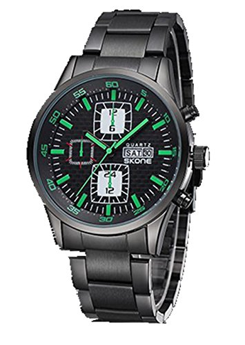 Quality Military Men Wristwatches Fashion Casual Watches 5045 Men Luxury Brand Watch - Green
