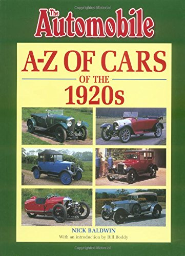 A-Z of Cars of the 1920s (1920 Cars compare prices)