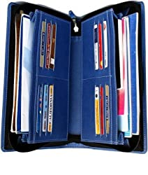 Multiple4 Cheque Book Holder Sky Blue