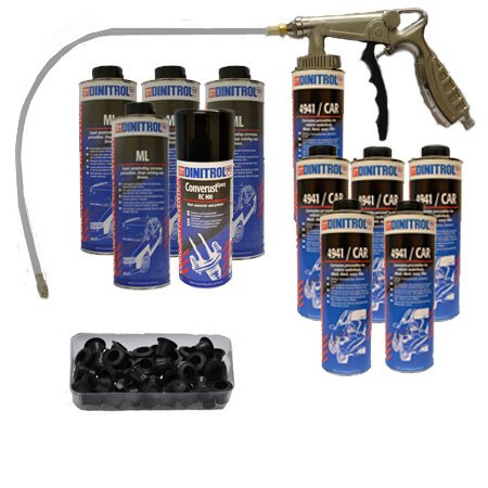DINITROL DIY RUST PROOFING LITRES KIT FOR LARGE CAR