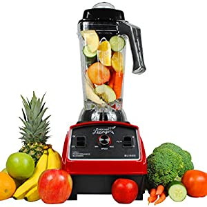 New Age Living BL1500 3HP Smoothie Blender - 5 Year Warranty - Blends Frozen Fruits, Vegetables, Greens, even Ice - Make Pro Quality Shakes & Soups