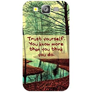Samsung I9300 Galaxy S3 Phone Cover - Trust Yourself Phone Cover