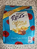 2 Pack * Cadbury Roses Golden Barrel Limited Edition 86 grm Each Bag