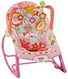Fisher-Price Infant-to-Toddler Rocker Pink Bunnies