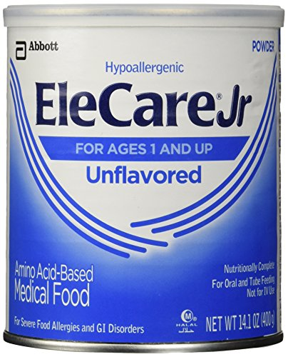 Elecare Jr Unflavored Hypoallergenic 14.1 Oz