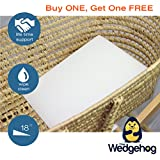 TWO PACK - The Wedgehog Moses Basket Reflux Wedge (28cm) - also perfect for colic and congestion