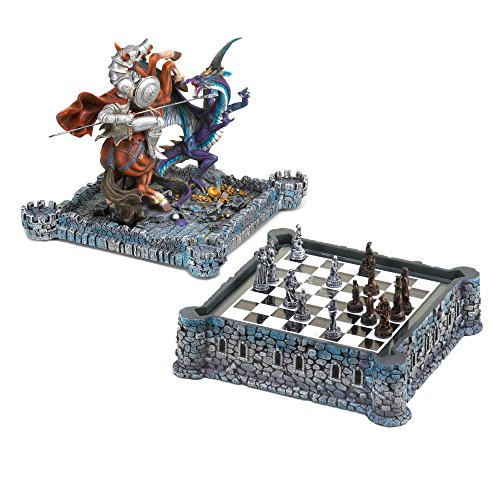 Dragon And Knight Medieval Chess Board Game Set Decor [Toy] by GetYourGiftHere (Euphoria Board Game compare prices)