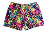 Neon Paisley Flower Power Shorts (ava...
