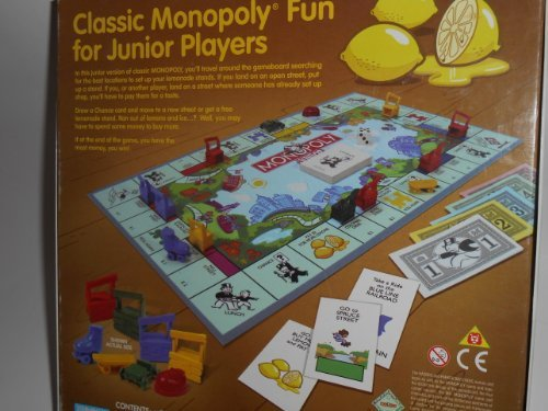 Monopoly Junior Lemonade by Parker Brothers - 1
