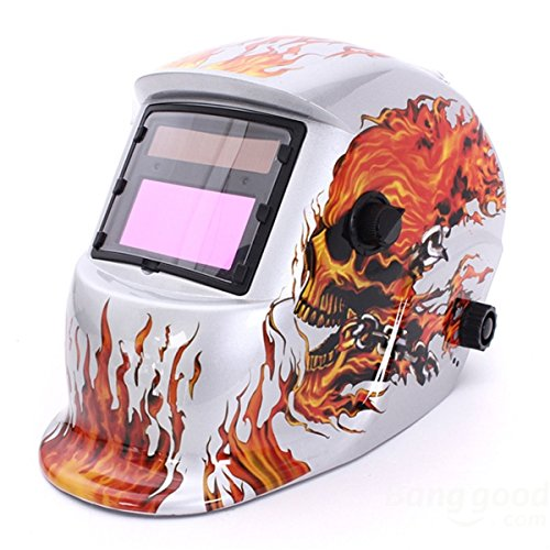 New AIMENTE Electrical Welding Helmet Solar Energy Automatic Grinding Mask