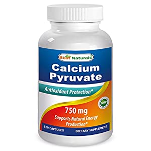 #1 Calcium Pyruvate 750 mg Capsule by Best Naturals (1)