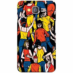 Back Cover For Samsung Galaxy Grand 2 (Printed Designer)