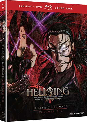 Hellsing Ultimate: Volumes 9 & 10 (Blu-ray/DVD Combo)