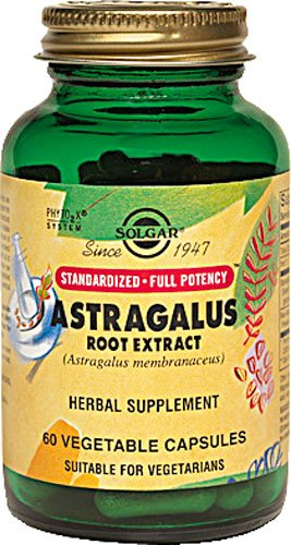 Solgar Standardized Full Potency Astragalus Root Extract Vegetable Capsules, 60 Count (Astragalus Extract compare prices)