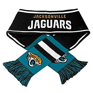 Jacksonville Jaguars NFL 2013 Team Wordmark Knit Scarf by Forever Collectibles