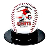 Custom Personalized Baseball - Ships in 1 Day, High Resolution Photos, Logos & Text on Baseball Balls - for Players, Trophies, MVP Awards, Coaches, Personalized Gifts