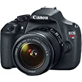 Canon EOS Rebel T5 EF-S 18-55mm IS II Digital SLR Kit with 55-250mm STM Lens