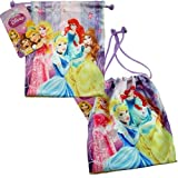 Disney Princess Small Drawstring Satin Pouch