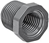 Spears 839 Series PVC Pipe Fitting, Bushing, Schedule 80, 3/4