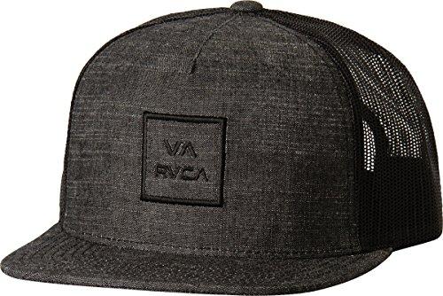 rvca-mens-va-all-the-way-trucker-hat-black-denim-one-size