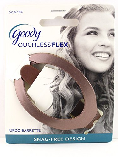goody-ouchless-comfort-flex-updo-hair-barrette-brown