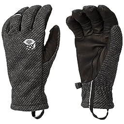 Mountain Hardwear Men\'s Gravity Warm Gloves M BLACK