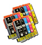 The Ink Squid 3 Sets Of T2621 + T2631/T2632/T2633/T2634 (T26 Xl 'Polar Bear') Very High Capacity Compatible Ink Cartridges For Epson Expression Premium Xp600 Xp605 Xp700 And Xp800 Printers