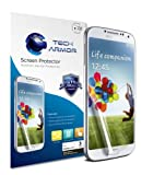 Tech Armor Samsung Galaxy S4 (Not S4 ACTIVE) Premium Anti-Glare & Anti-Fingerprint (Matte) Screen Protectors with Lifetime Replacement Warranty [3-Pack] - Retail Packaging