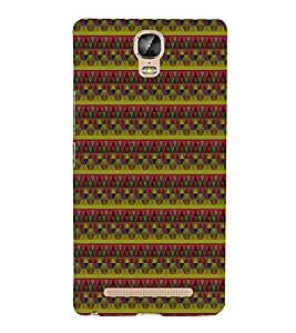 Colourful Pattern 3D Hard Polycarbonate Designer Back Case Cover for Gionee Marathon M5 Plus