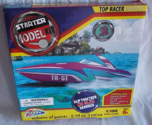 Grafix Top Racer Mark 2 Starter Model Kit - 1