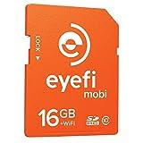 Tarjeta de memoria SDHC Eye-Fi Class 10 16GB  con  Wi-Fi y un año de membresía a servicios de nube.