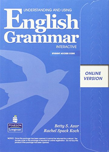 Understanding and Using English Grammar Interactive, Online