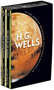 Five Great Science Fiction Novels (Dover Thrift Editions) by H. G. Wells
