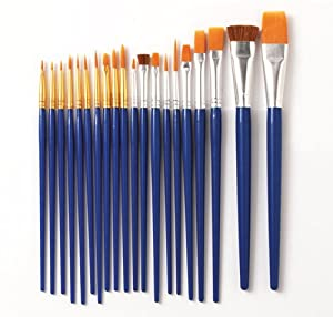 Plaid 50536 10-Piece Learn to Paint Premium Brush Set