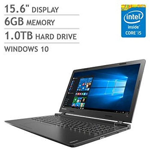 2016 Newest Lenovo Premium High Performance 15.6-inch HD Laptop (Intel Core i5 processor, 6GB DDR3L, 1TB HDD, DVD RW, Bluetooth,...