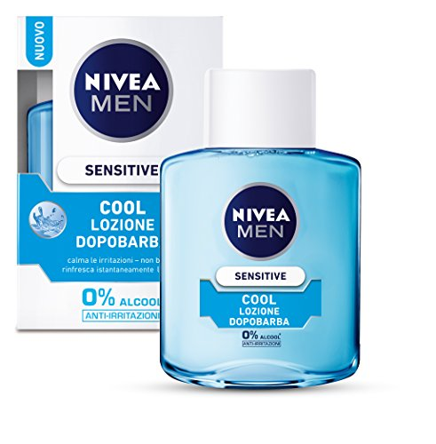 Nivea For Men After Shave Lozione Sensitive Cool 100Ml