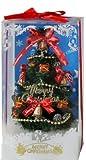 クリスマス用 飾り LEDライト付き!光るテーブルクリスマスツリー(レッド) 【プレゼント/ギフト/ラッピング用資材】