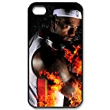 iphone4/4S plastic case with Miami Heat LeBron James idol image