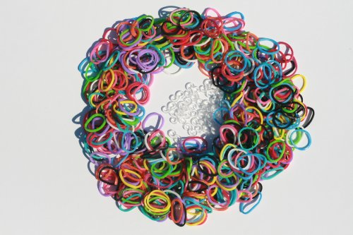 Telar Gomas - 600 Twistz Bandz Repuestos Variety Value Pack con clips (colores del arco iris) - 100% compatible con Rainbow Loom