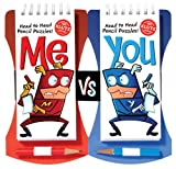 Me Vs. You: Head-to-Head Pencil Games Challenge (Klutz)