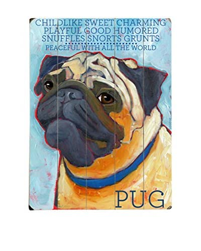 Artehouse Pug Wood Wall Décor
