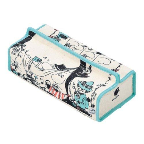 ムーミン ティッシュカバーtente(テンテ) COLOR FERMENTED JAM8521【moomin スナフキン 北欧 インテリア ティッシュケース 布製】