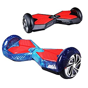 EROVER Two Wheels Smart Self Balancing Scooters Electric Drifting Board Personal Adult Transporter with LED Light