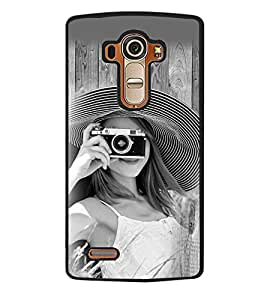 Fuson 2D Printed Girly Designer back case cover for LG G4 - D4448
