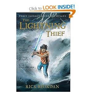 percy jackson lightning thief graphic novel pdf