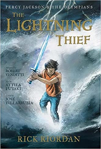 The Lightning Thief: The Graphic Novel (Percy Jackson & the Olympians, Book 1) written by Rick Riordan