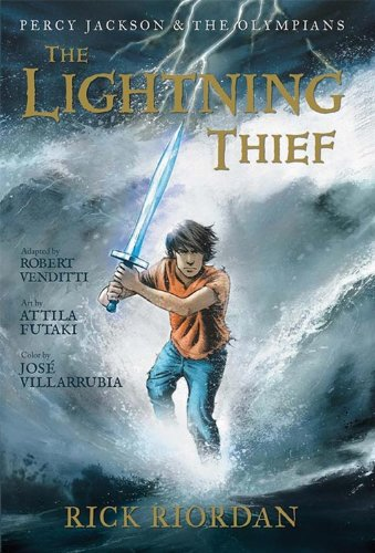 The Lightning Thief: The Graphic Novel (Percy Jackson...