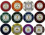 ポーカー カジノ チップマーカー 12枚セット ラウンド用品 グリーンマーカー (12枚セット)