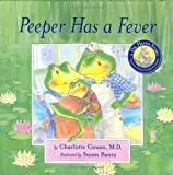 Peeper Has a Fever (Dr. Hippo Story) [Hardcover]
